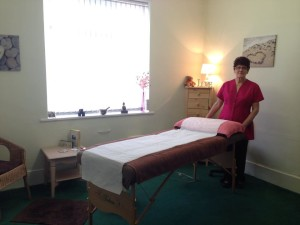 Tranquil Complementary Therapies room setup